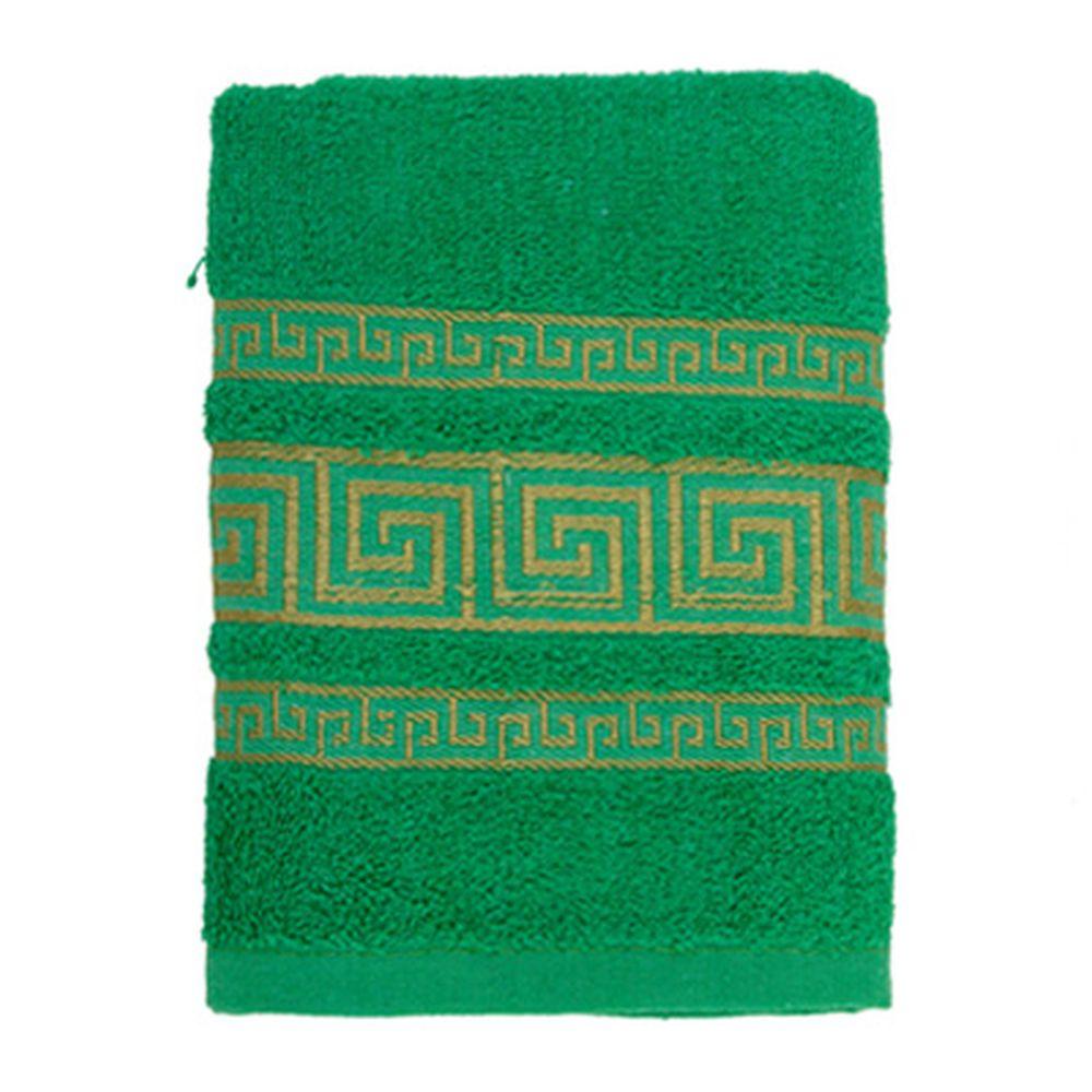 VETTA Полотенце махровое, 100% хлопок, 50x90см, Greece зелёное
