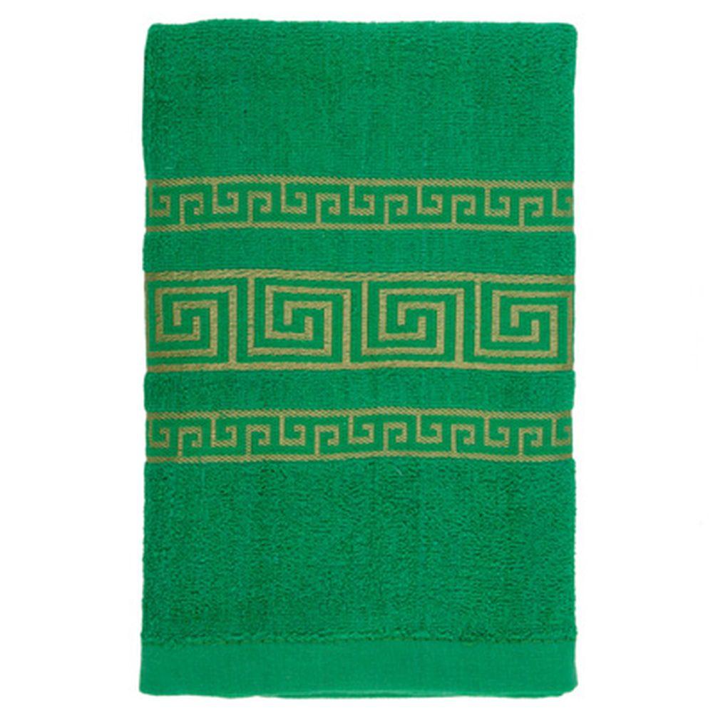 VETTA Полотенце махровое, 100% хлопок, 60x130см, Greeceзелёное