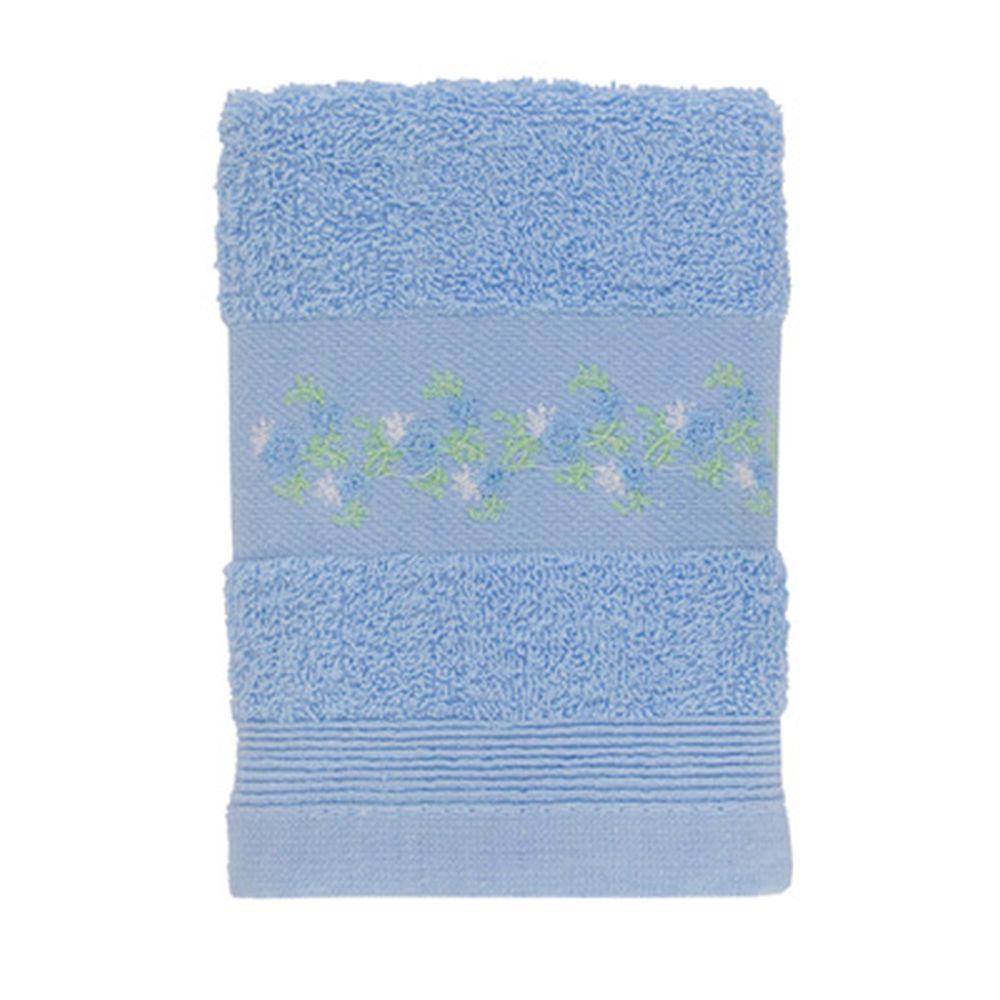 VETTA Полотенце махровое, 100% хлопок, 35x70см, Slovenia, голубое