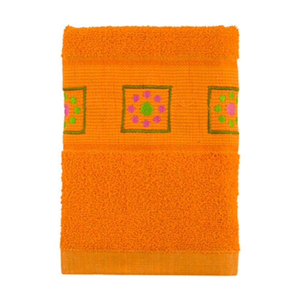 VETTA Полотенце махровое, 100% хлопок, 50x90см, Tunisia оранжевое