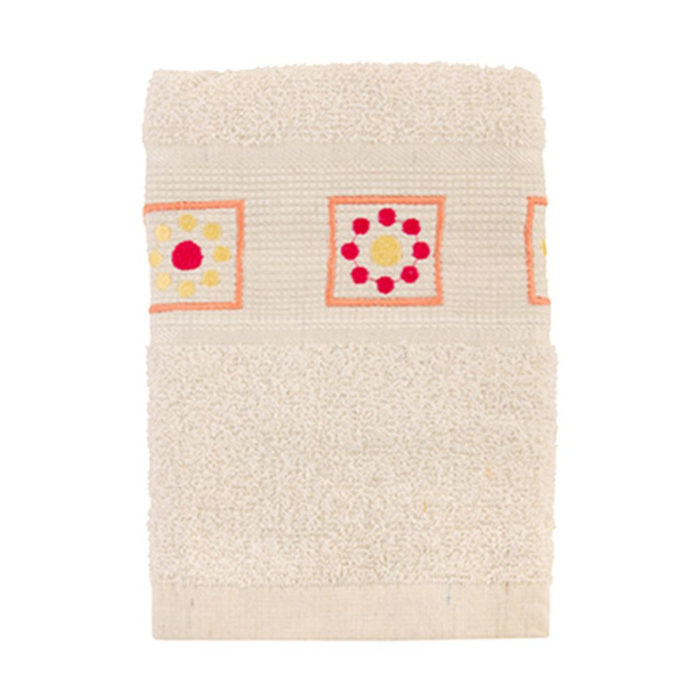 VETTA Полотенце махровое, 100% хлопок, 50x90см, Tunisia белое