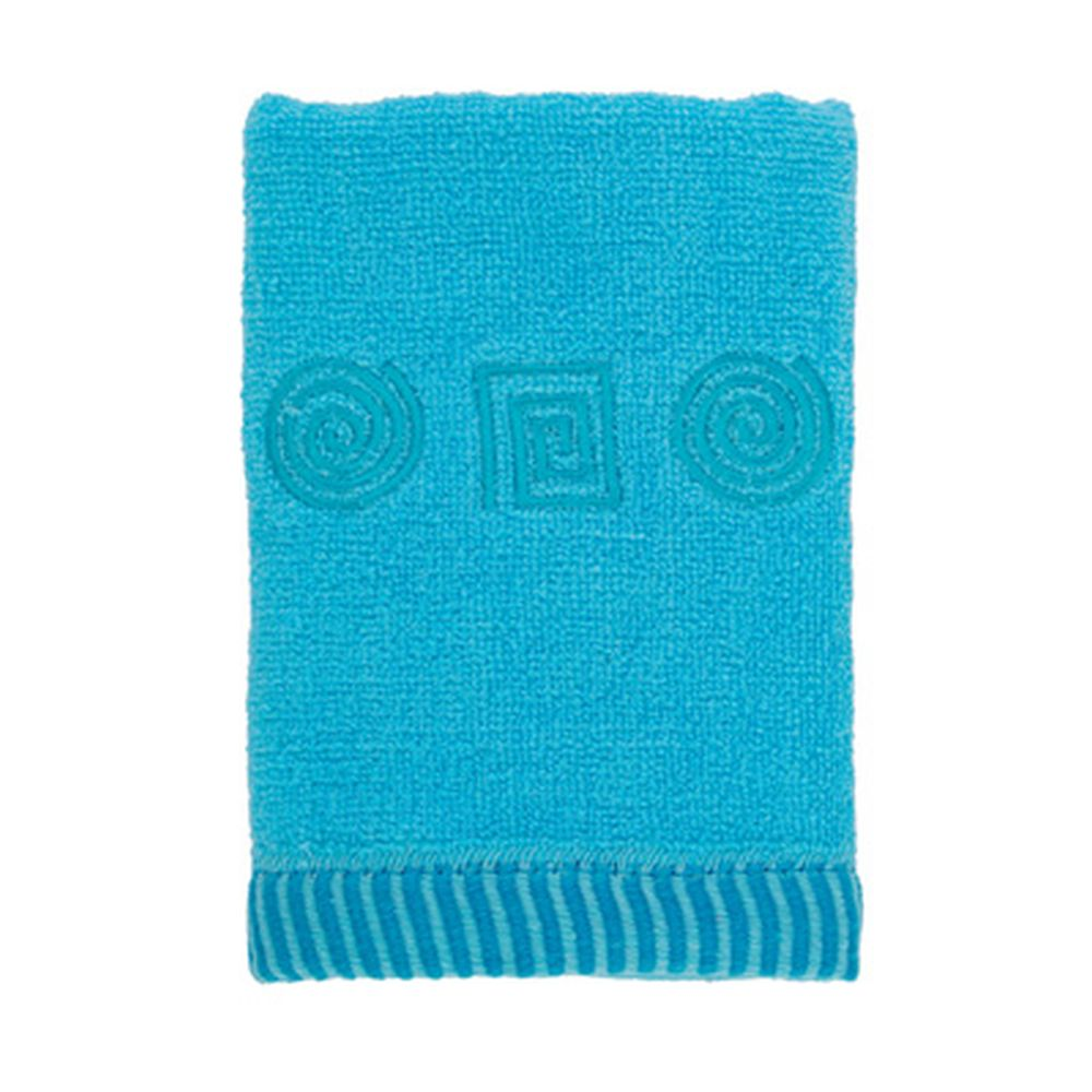 VETTA Полотенце махровое, 100% хлопок, 35x70см, Egypt, голубое