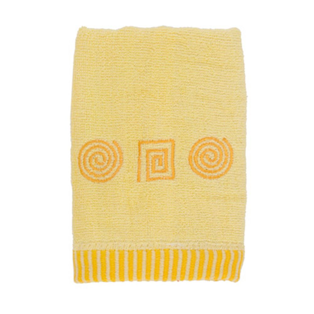 VETTA Полотенце махровое, 100% хлопок, 35x70см, Egypt, жёлтое