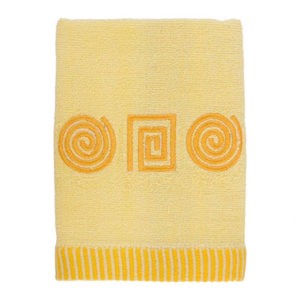 VETTA Полотенце махровое, 100% хлопок, 50x90см, Egypt жёлтое