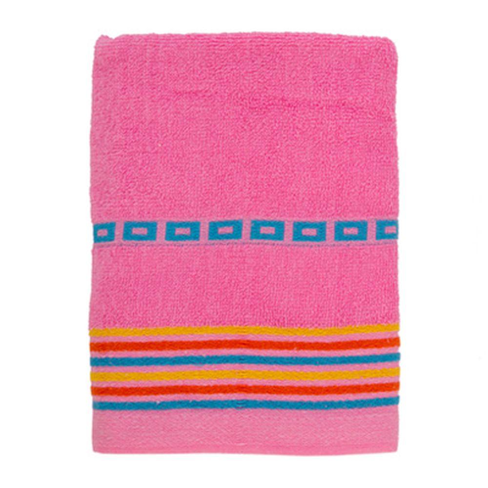 VETTA Полотенце махровое, 100% хлопок, 50x90см, Sicilia розовое