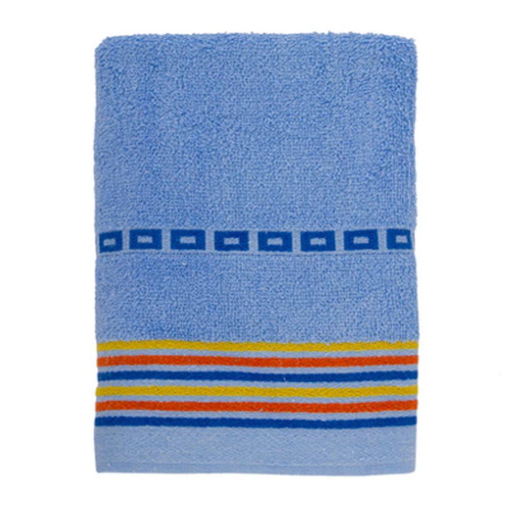 VETTA Полотенце махровое, 100% хлопок, 50x90см, Sicilia голубое