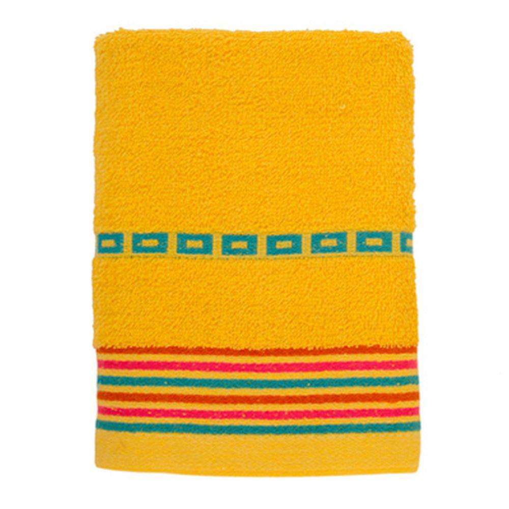 VETTA Полотенце махровое, 100% хлопок, 50x90см, Sicilia жёлтое
