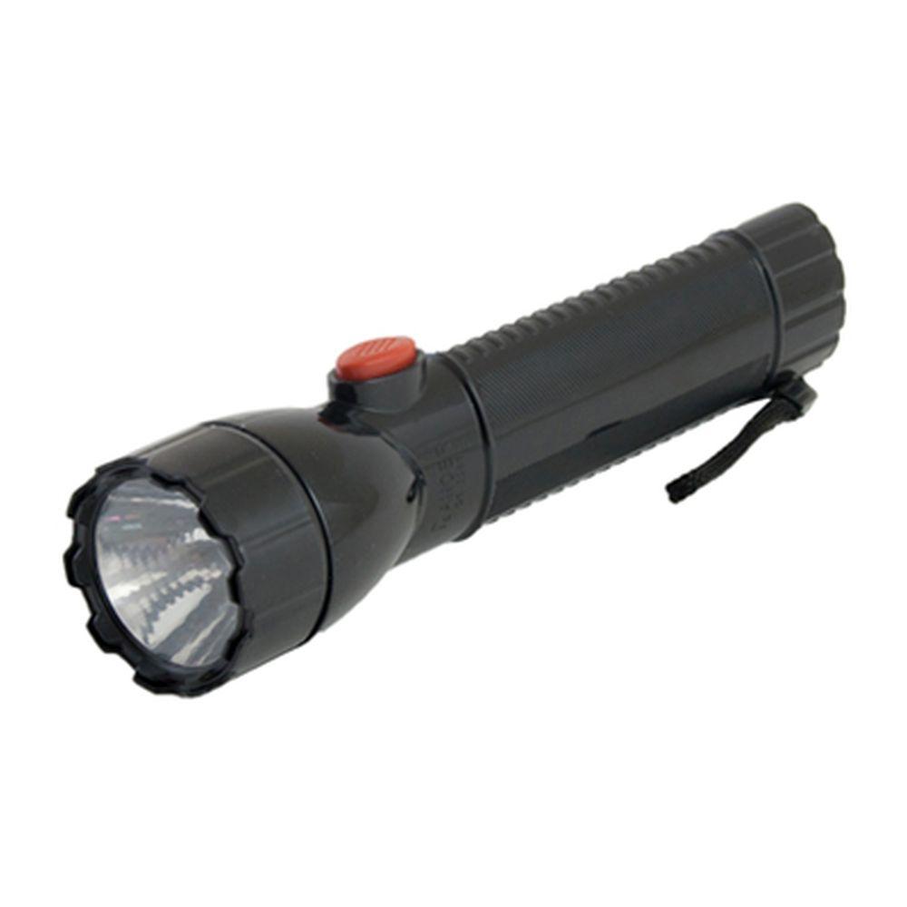 Фонарик пластик со светодиодами GE-2288 1 LED 3хAA