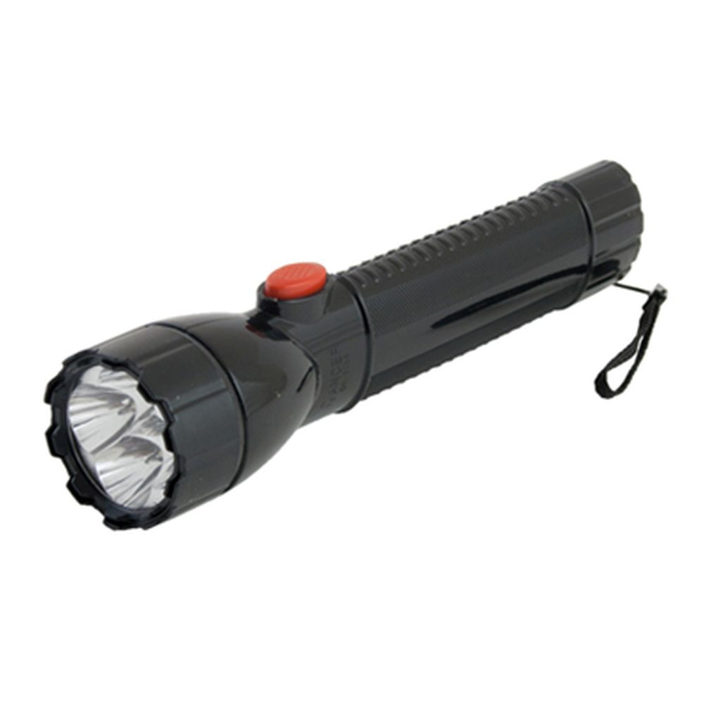 Фонарик пластик со светодиодами GE-2288 4 LED 3хAA