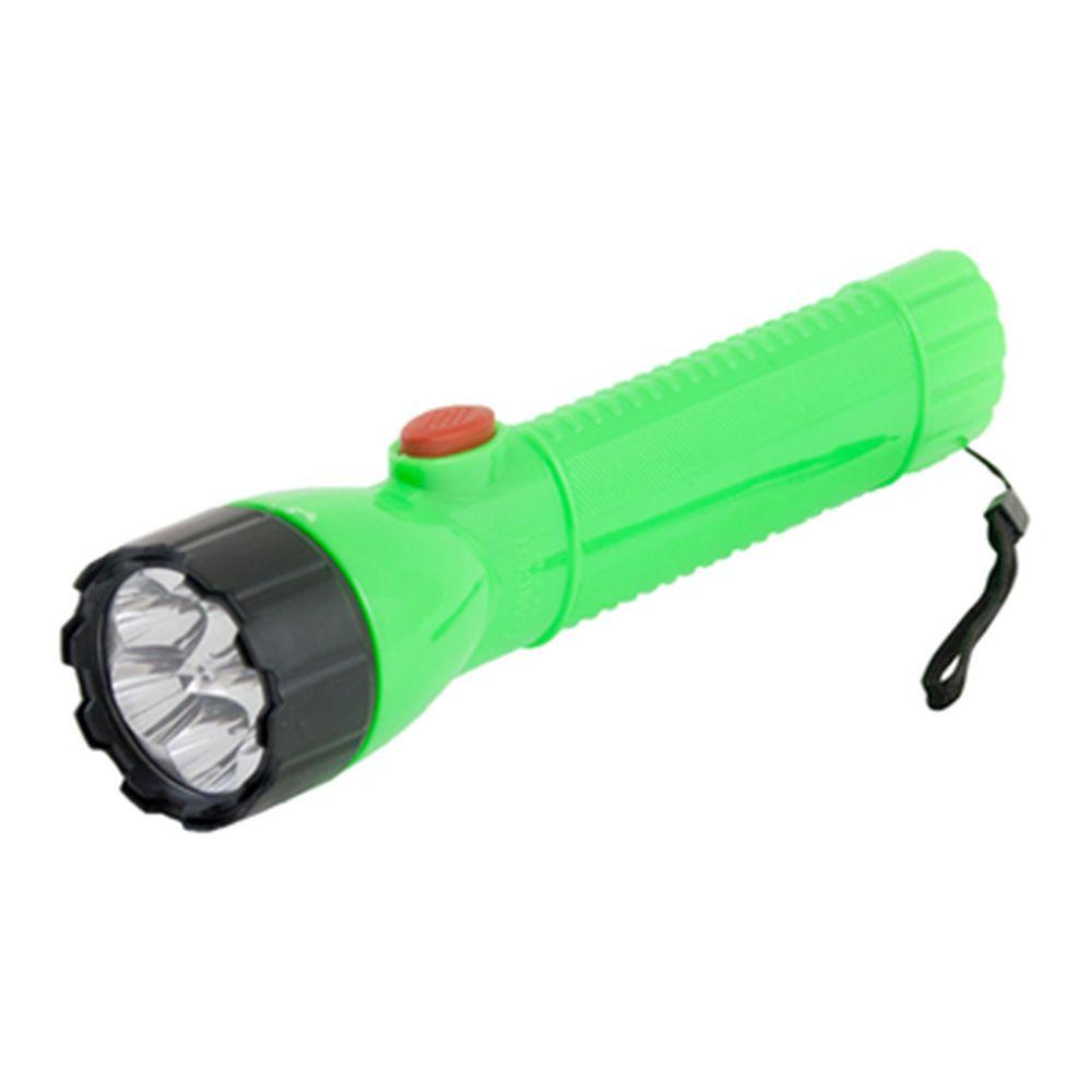 Фонарик пластик со светодиодами GE-2288 5 LED 3хAA