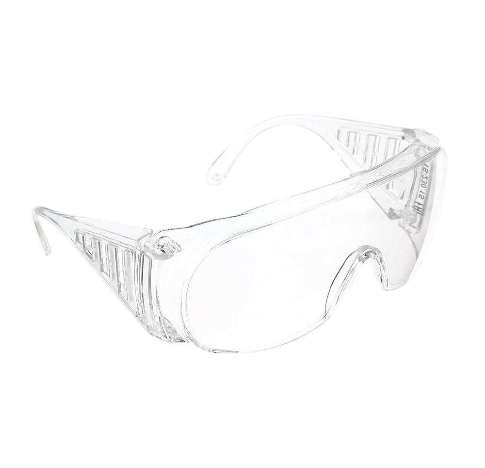 Очки защитные с дужками открытого типа, прозрачные, ударопрочный поликарбонат