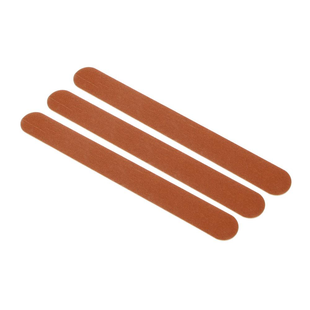 Набор пилок для ногтей 3шт, абразивных