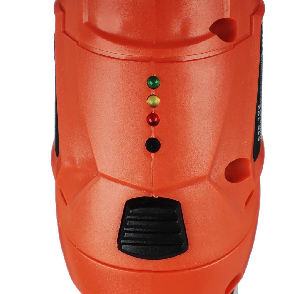 Аккумуляторная отвертка ЕРМАК ОА-48C, 4,8 В, Ni-Cd, 0,7 А/ч, 2 Н*м, LED подсветка