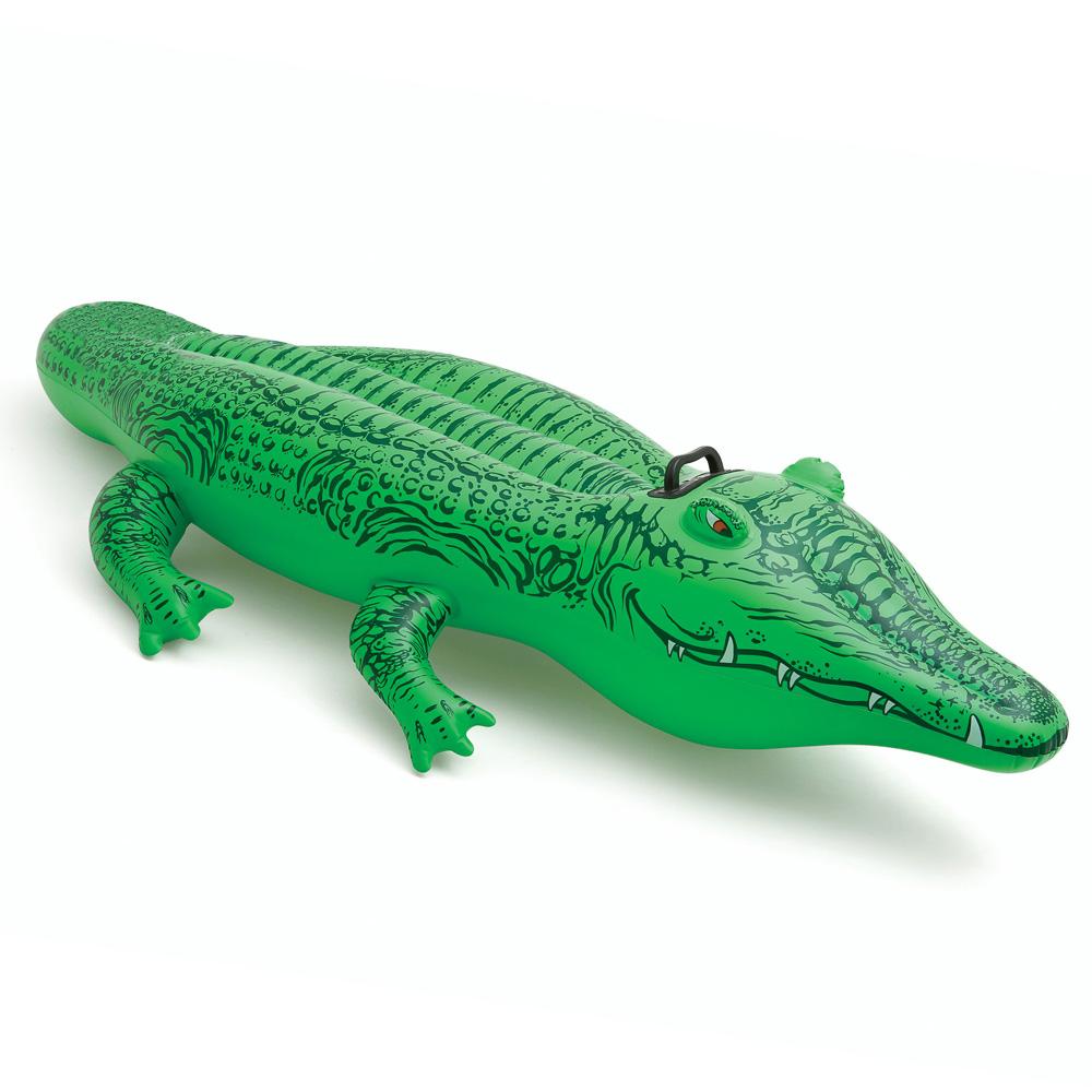 Надувная игрушка-наездник INTEX 58546 Крокодил от 3 лет
