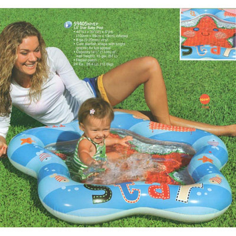 """INTEX Бассейн детский """"Маленький кит"""", 112x84x13см, для 1-3 года, 59406NP"""