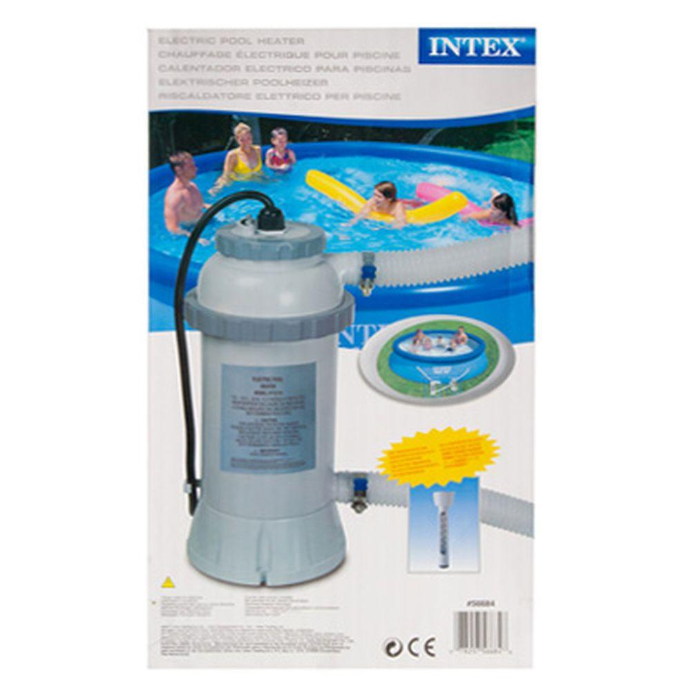 Проточный водонагреватель для бассейна, до 457 см, 220 вольт, INTEX, 28684