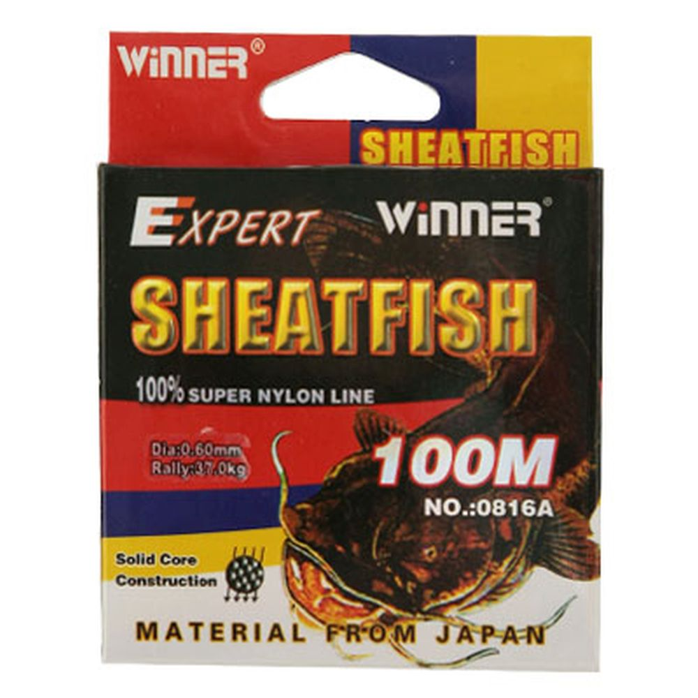 AZOR Леска winner 0816A Shetafish размер 0,14 коричневый 100м