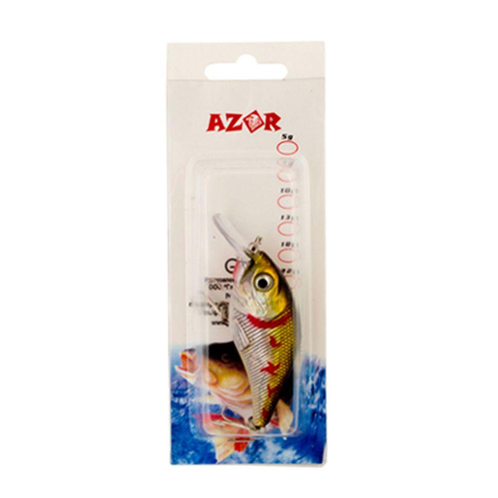 AZOR Воблер А-031 80 мм, 10,5 гр (1-1,5м)