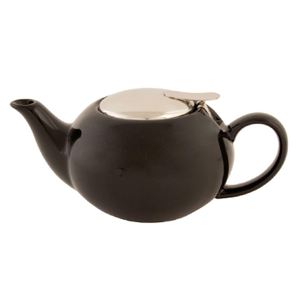VETTA Бау Чайник заварочный черный керамика 500 мл