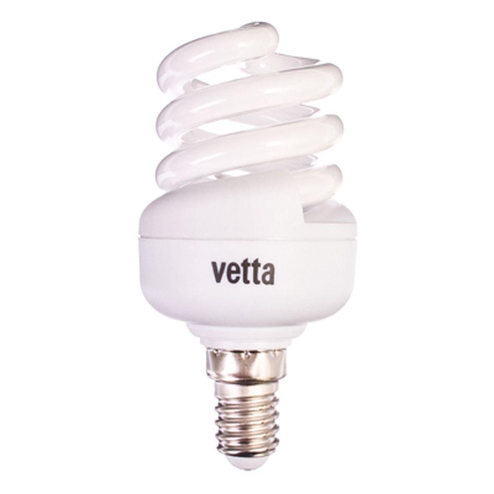 VETTA Лампа энергосберегающая E14 11W 2700K полн. спираль, трубка Т2