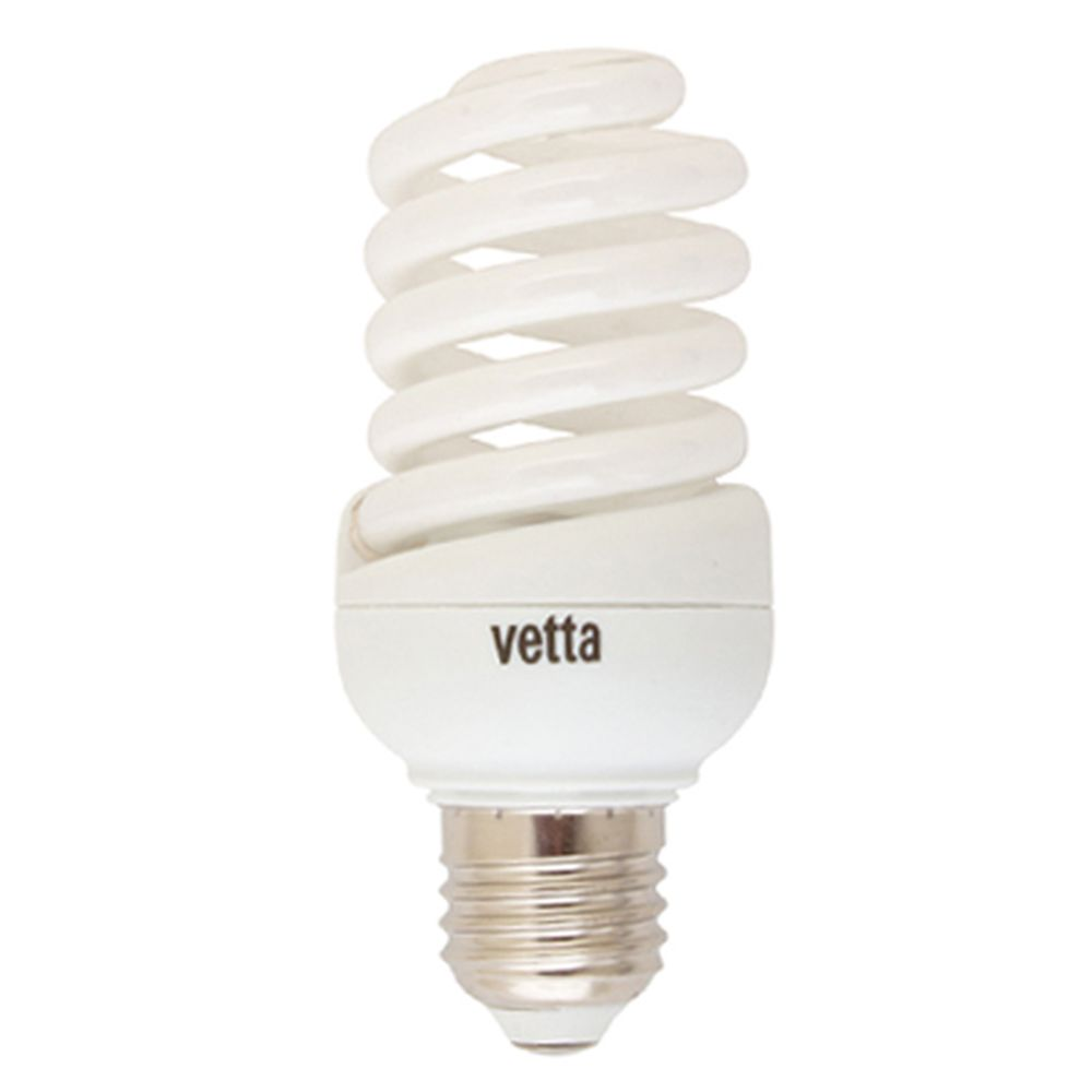 VETTA Лампа энергосберегающая E27 11W 2700K полн. спираль, трубка Т2