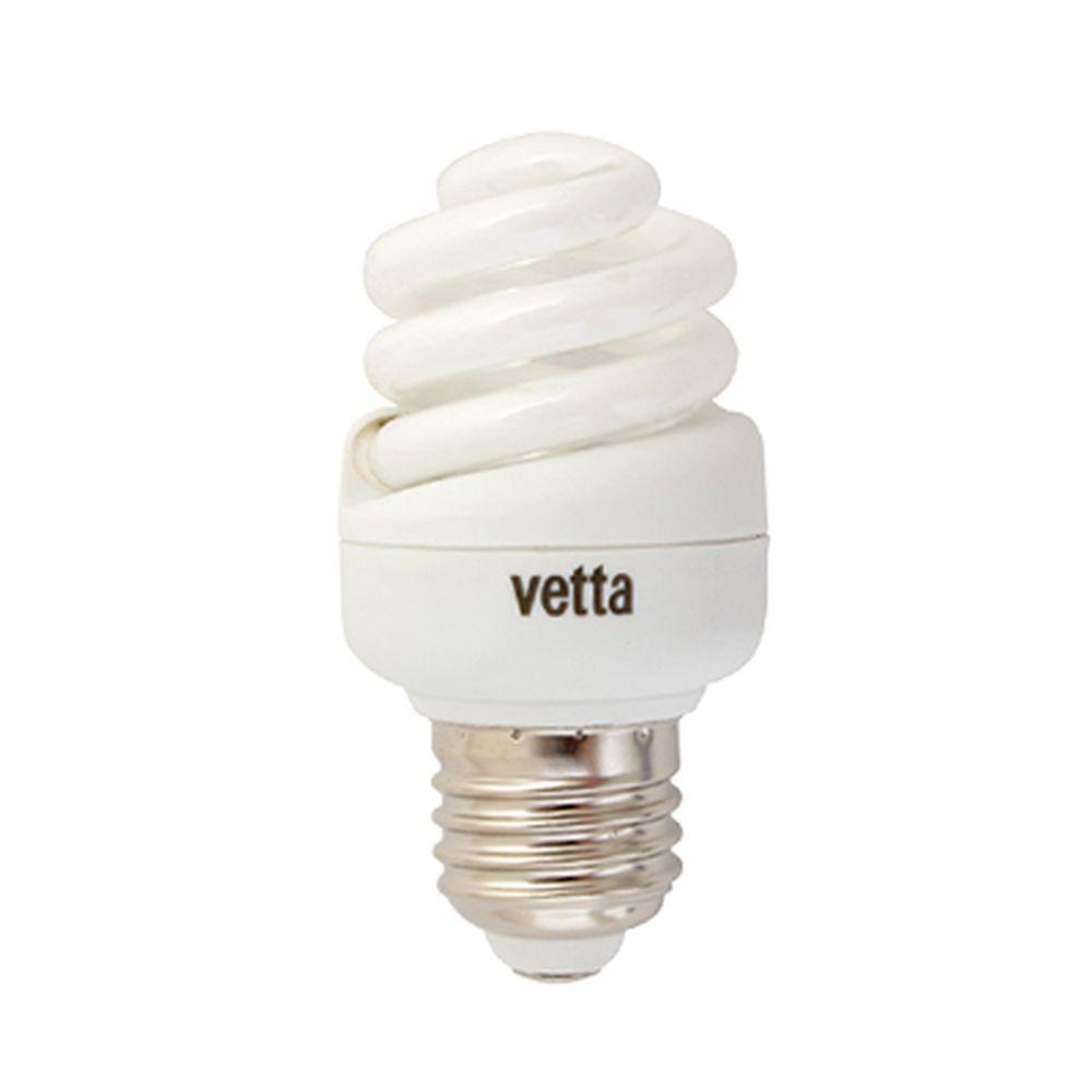 VETTA Лампа энергосберегающая E27 15W 2700K полн. спираль, трубка Т2