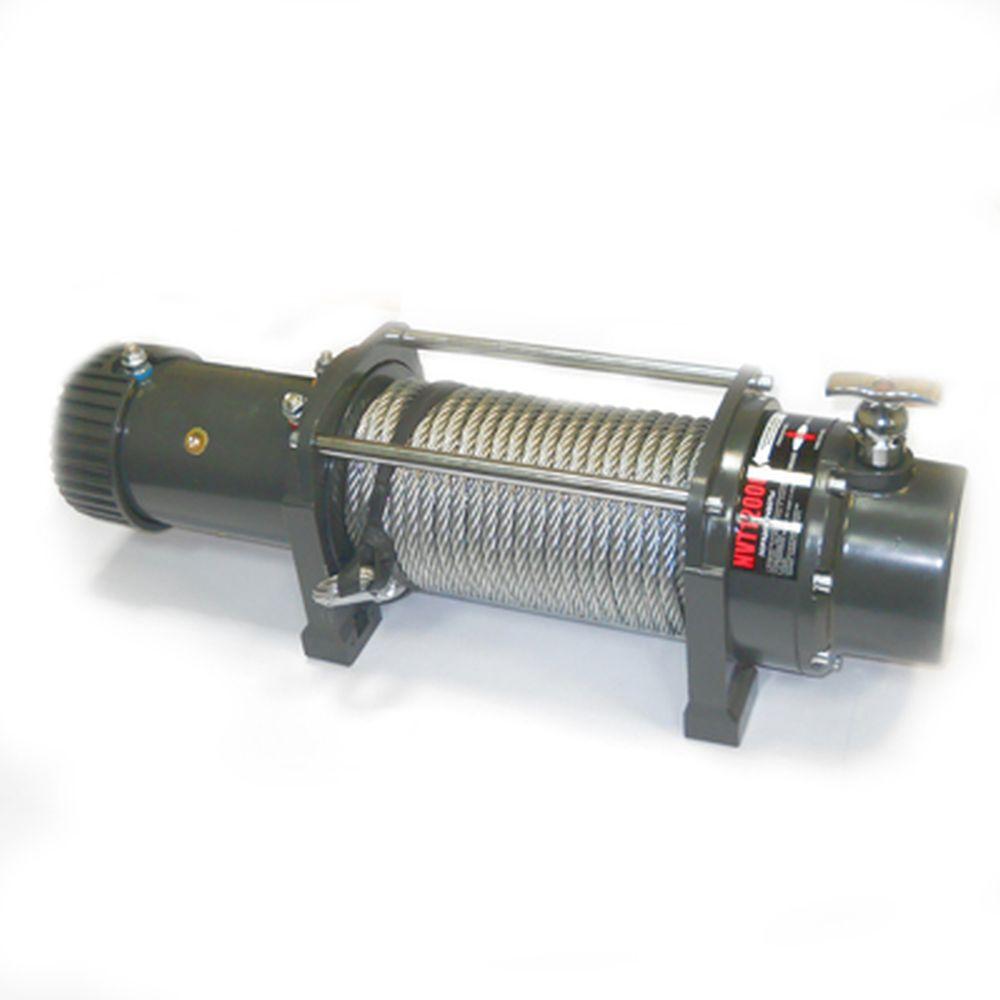ЕРМАК Лебедка электрическая NVT12000, 12V, 5443 кг