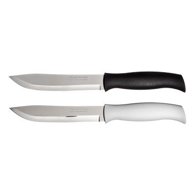 Кухонный нож 15 см Tramontina Athus, белая ручка, 23083/086