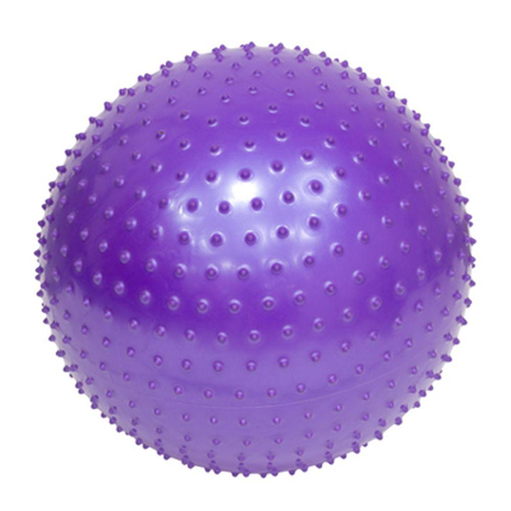 Мяч для фитнеса массажный, ПВХ, 75см, 4 цвета