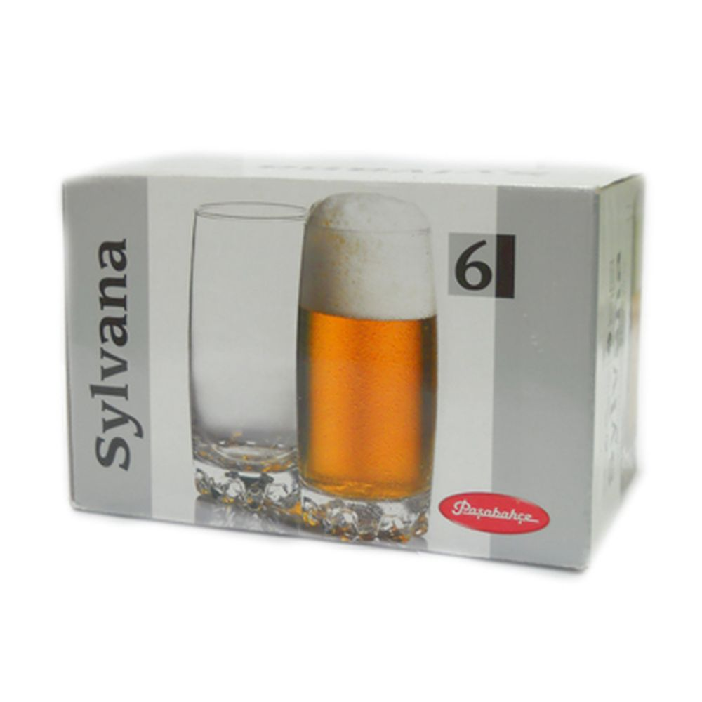 Набор стаканов 6шт, 390мл Сильвана 42812