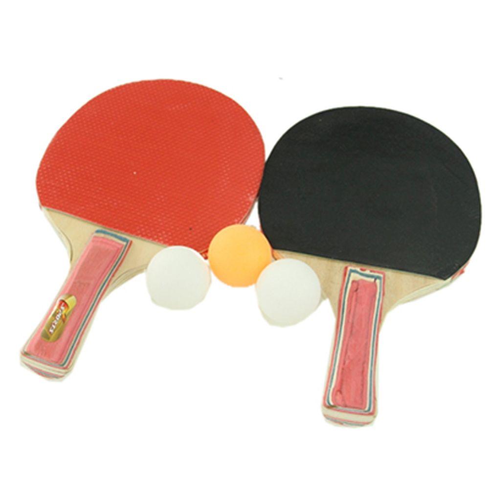 Теннис настольный набор 2 ракетки и 3 шарика 8001