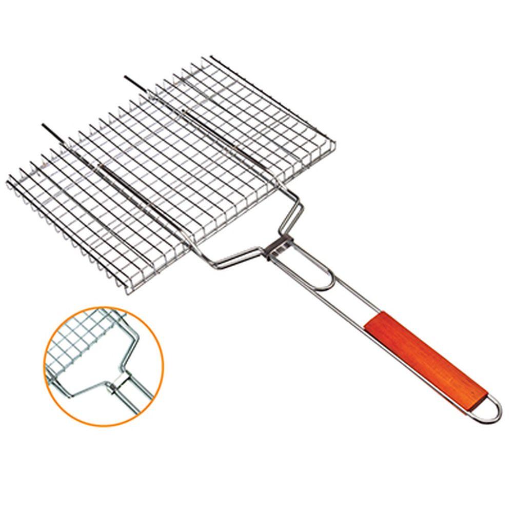 GRILLBOOM Решетка-гриль для стейков, 34х26х2см