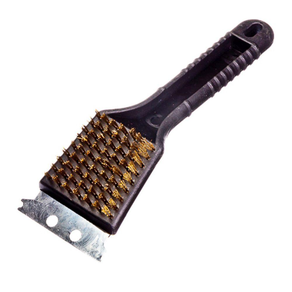 GRILLBOOM Щетка для чистки гриля со скребком