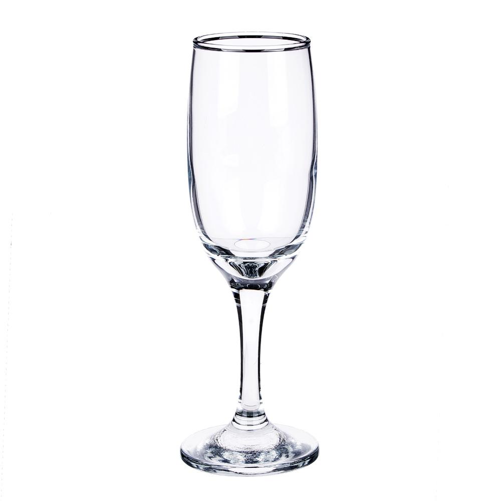"""Набор фужеров для шампанского 3шт., 190 мл, """"Бистро"""""""