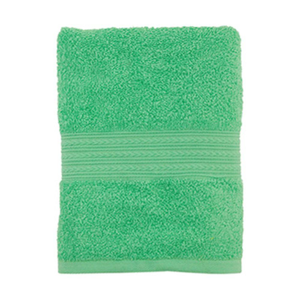 """Полотенце махровое, 100% хлопок, 50x90см, """"ДМ"""",  зеленый"""