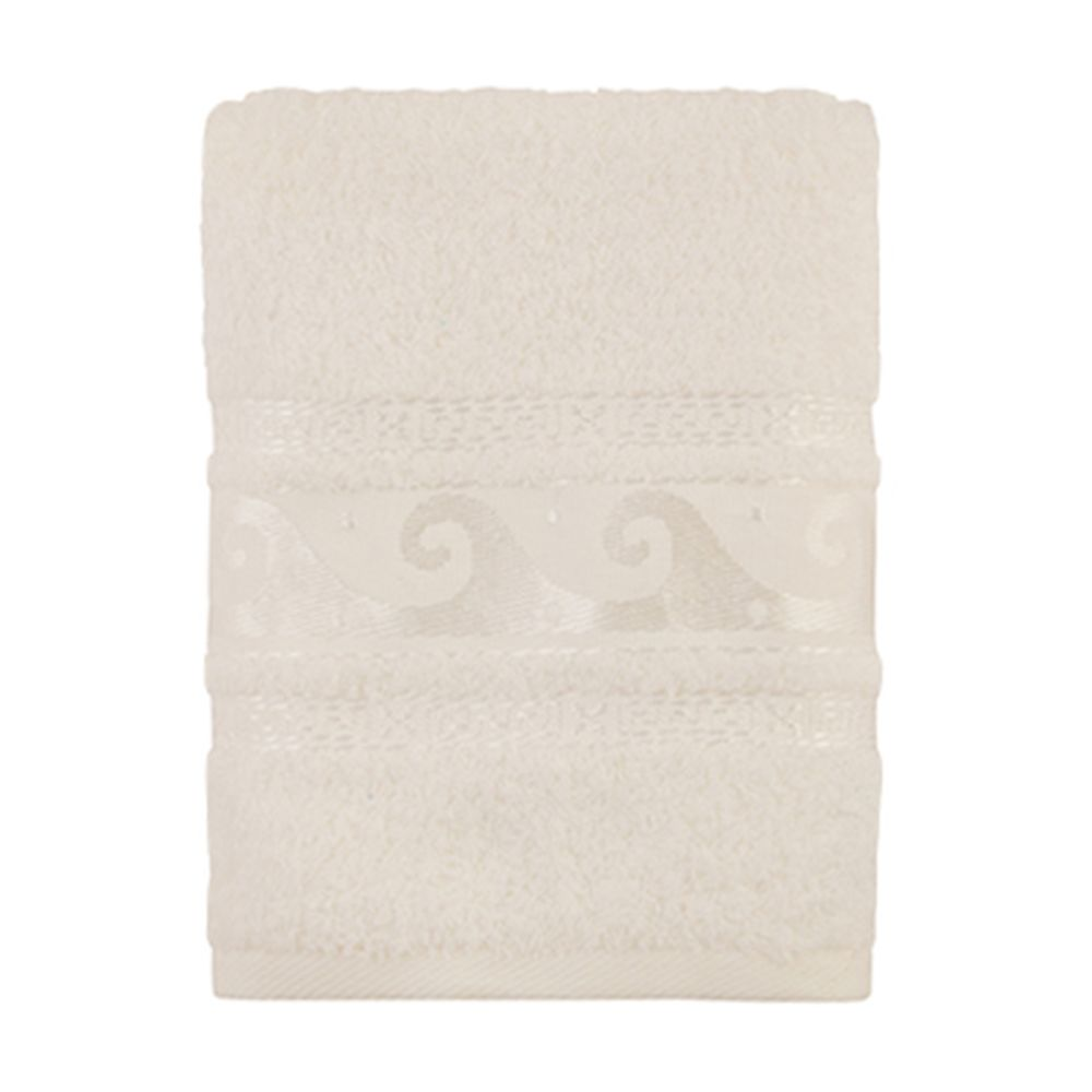 Полотенце махровое, 100% хлопок, 50x90см, Cleanelly, белый
