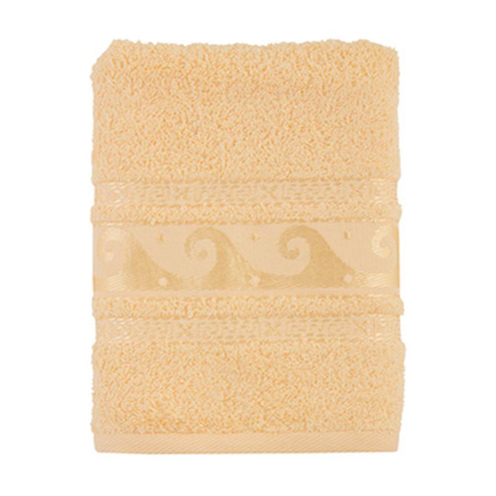 Полотенце махровое, 100% хлопок, 50x90см, Cleanelly, крем
