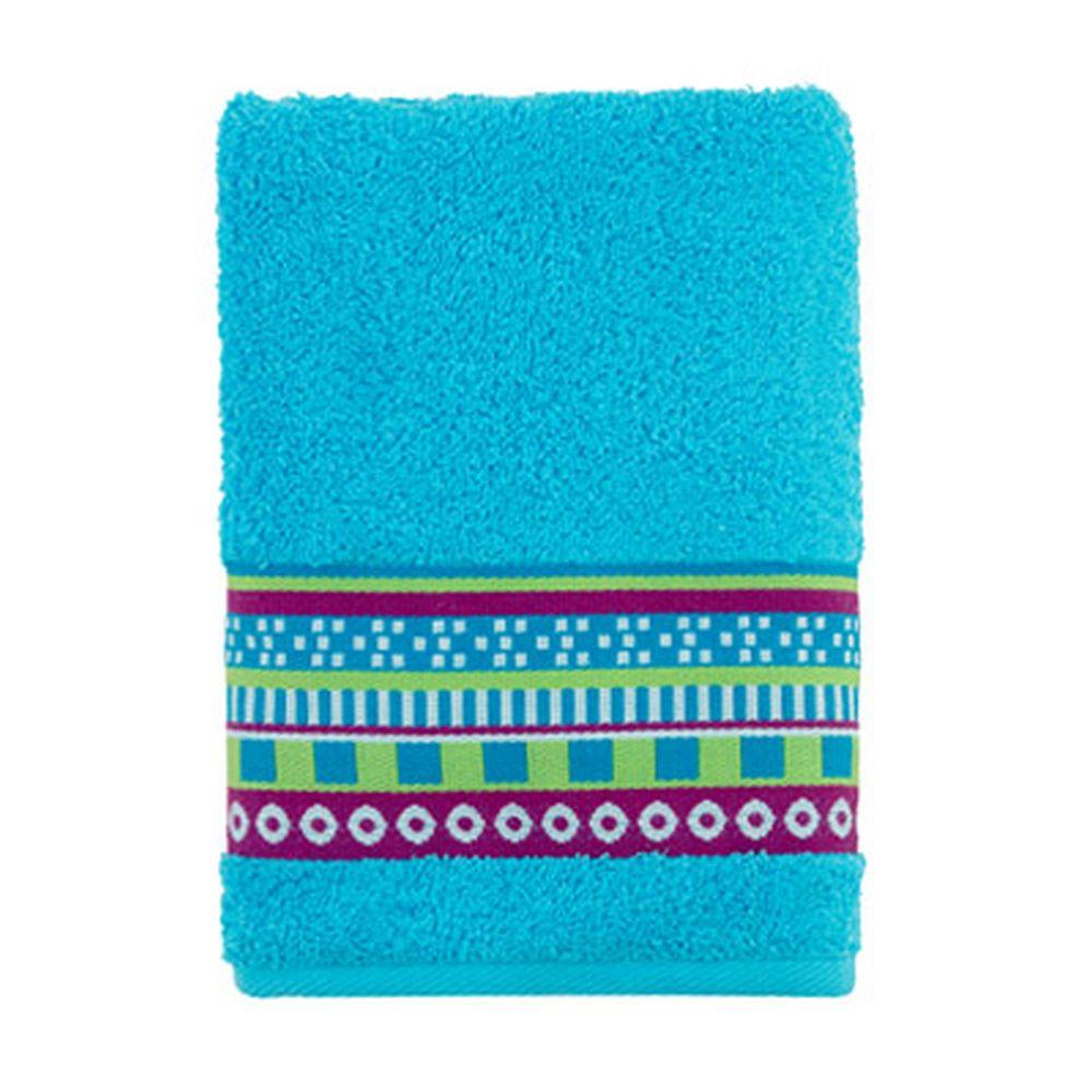 Полотенце махровое, 100% хлопок, 50x90см, Cleanelly Виваче, голубой