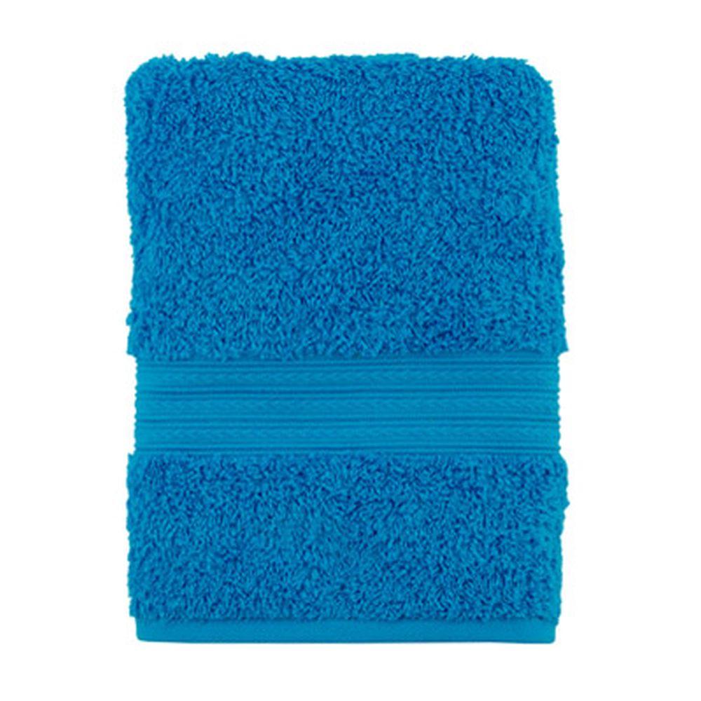 """Полотенце махровое, 100% хлопок, 50x100см, """"ДМ Люкс"""" Радуга, голубой"""