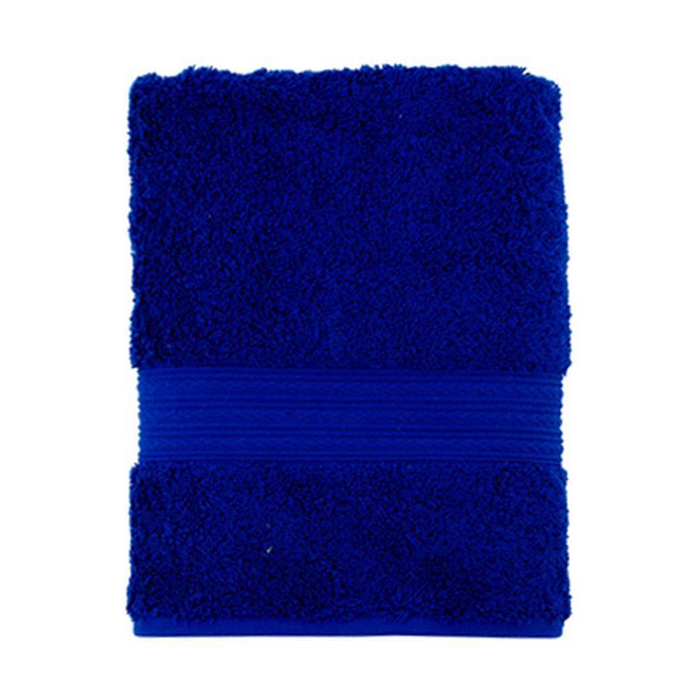 """Полотенце махровое, 100% хлопок, 50x100см, """"ДМ Люкс"""" Радуга, синий"""