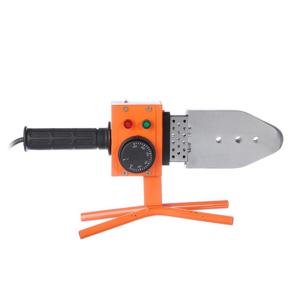ЕРМАК Аппарат для сварки пласт. труб АСП-800, 800 вт, 0-300 C, 6 насадок, 20-63 мм, метал кейс