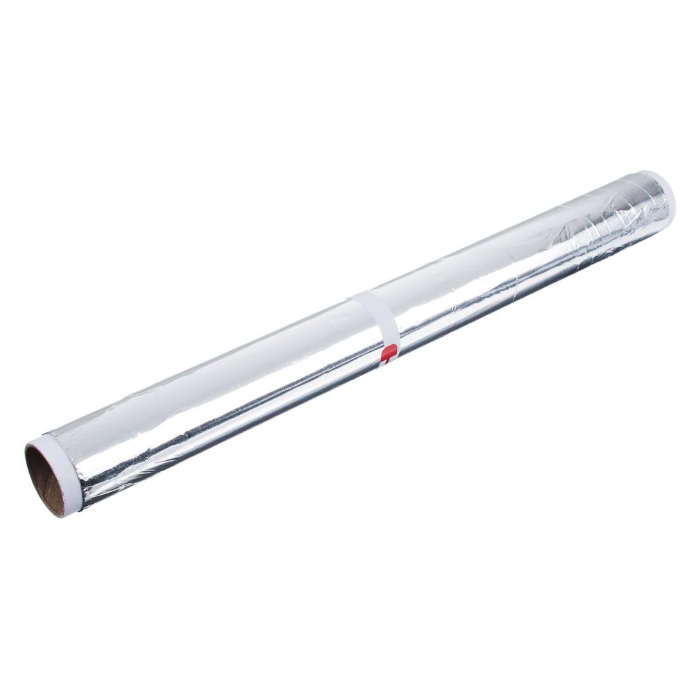 GRIFON Фольга алюминиевая 29см х 5м, 9мкр, в пленке, 500-005