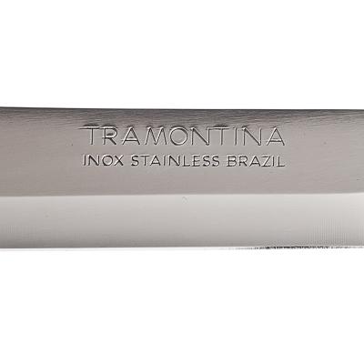 Кухонный нож 18 см Tramontina Athus, белая ручка, 23083/087