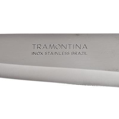 Кухонный нож 18 см Tramontina Athus, черная ручка, 23084/007