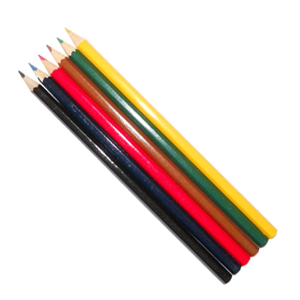 Набор цветных карандашей, 6 цветов, заточен., в картон.коробке