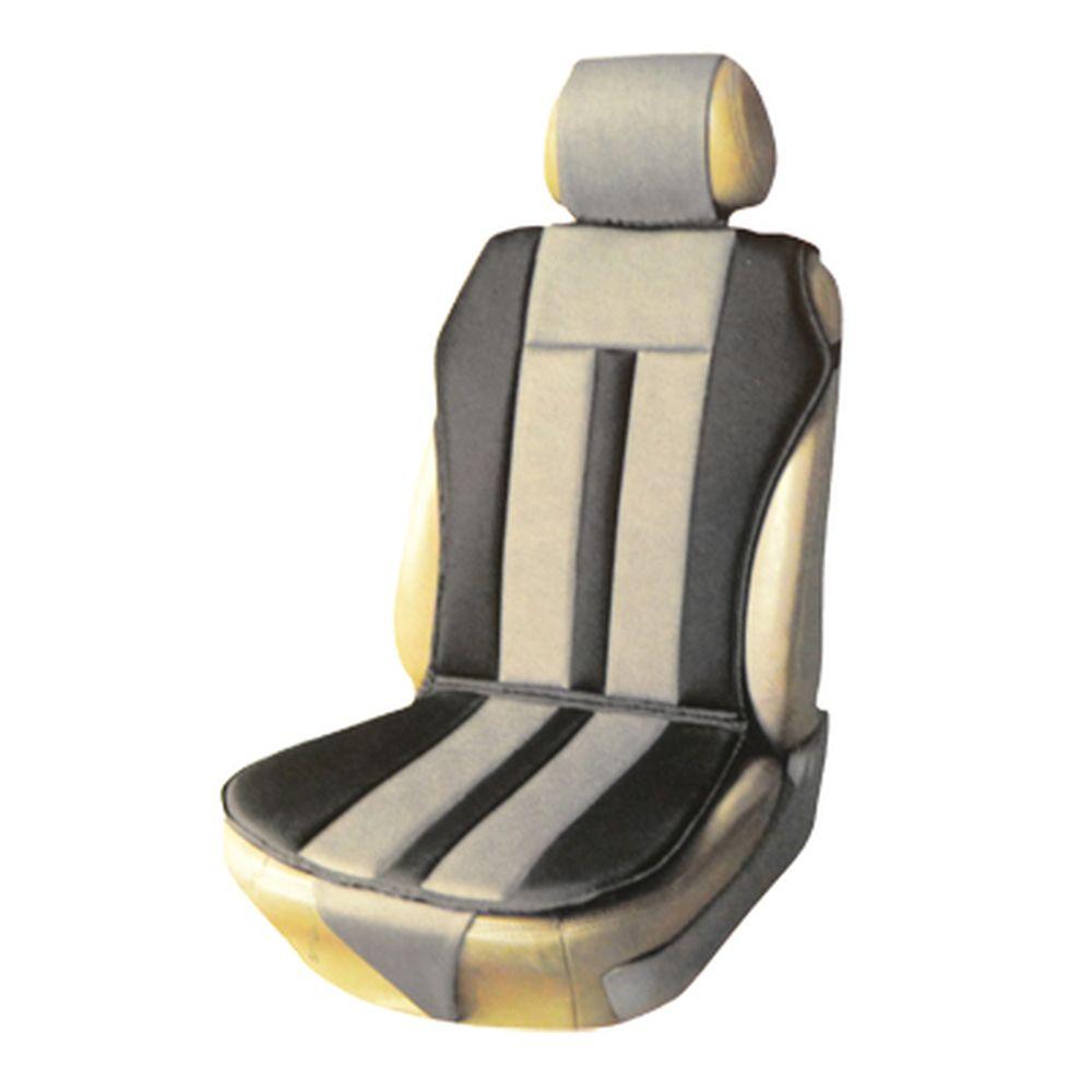 NEW GALAXY Чехол-накидка универ. Air Luxury, тип майка, сетка, карбон.волок, неопрен 14мм, черно-сер