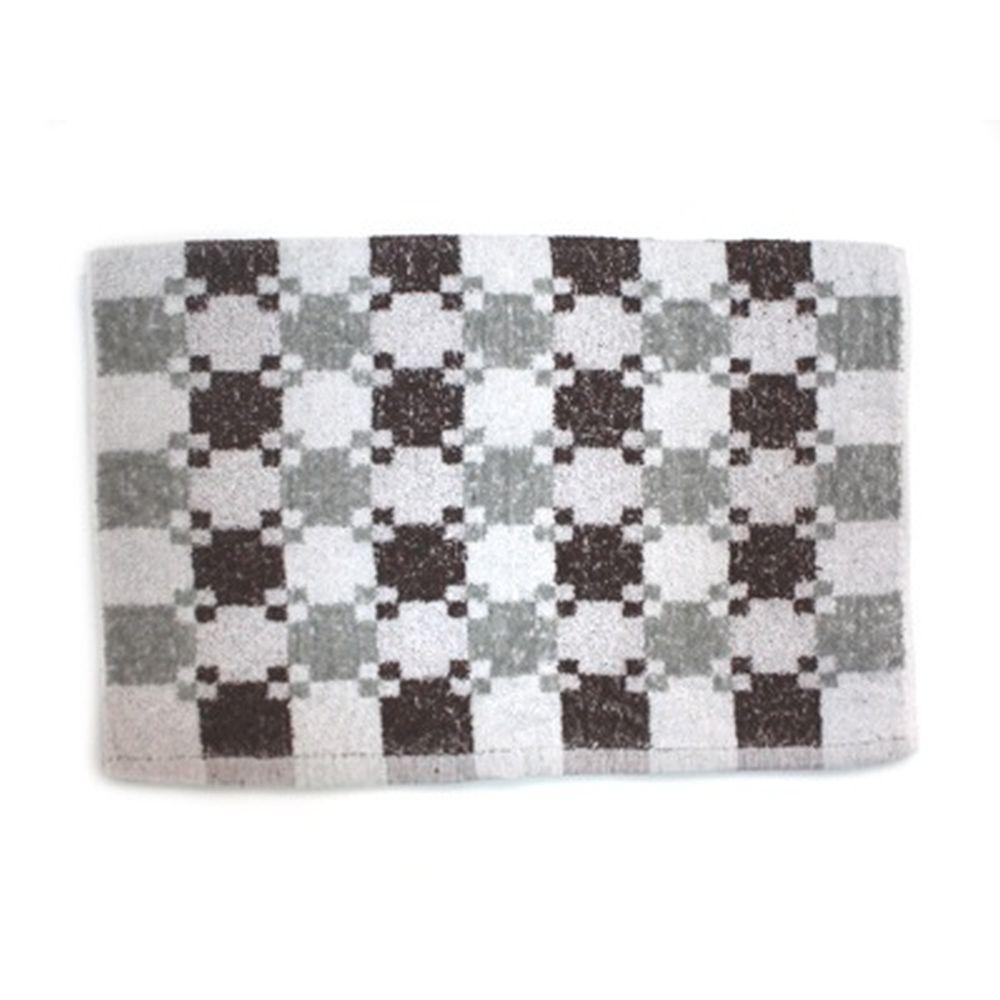 VETTA Полотенце банное, 100% хлопок Quadrato 50x90см, коричневое арт FBS900-26
