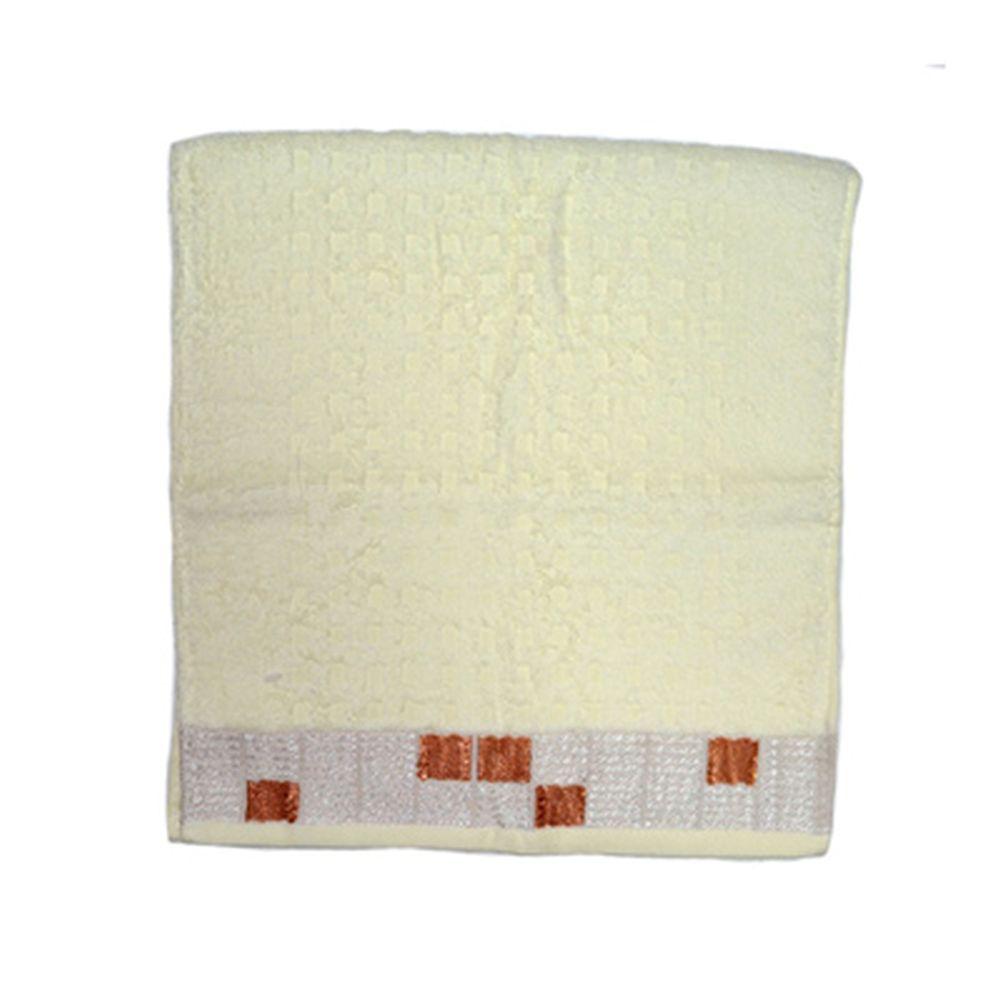 VETTA Полотенце банное, 100% хлопок, 32x70см, Squared белое арт.FBS8982