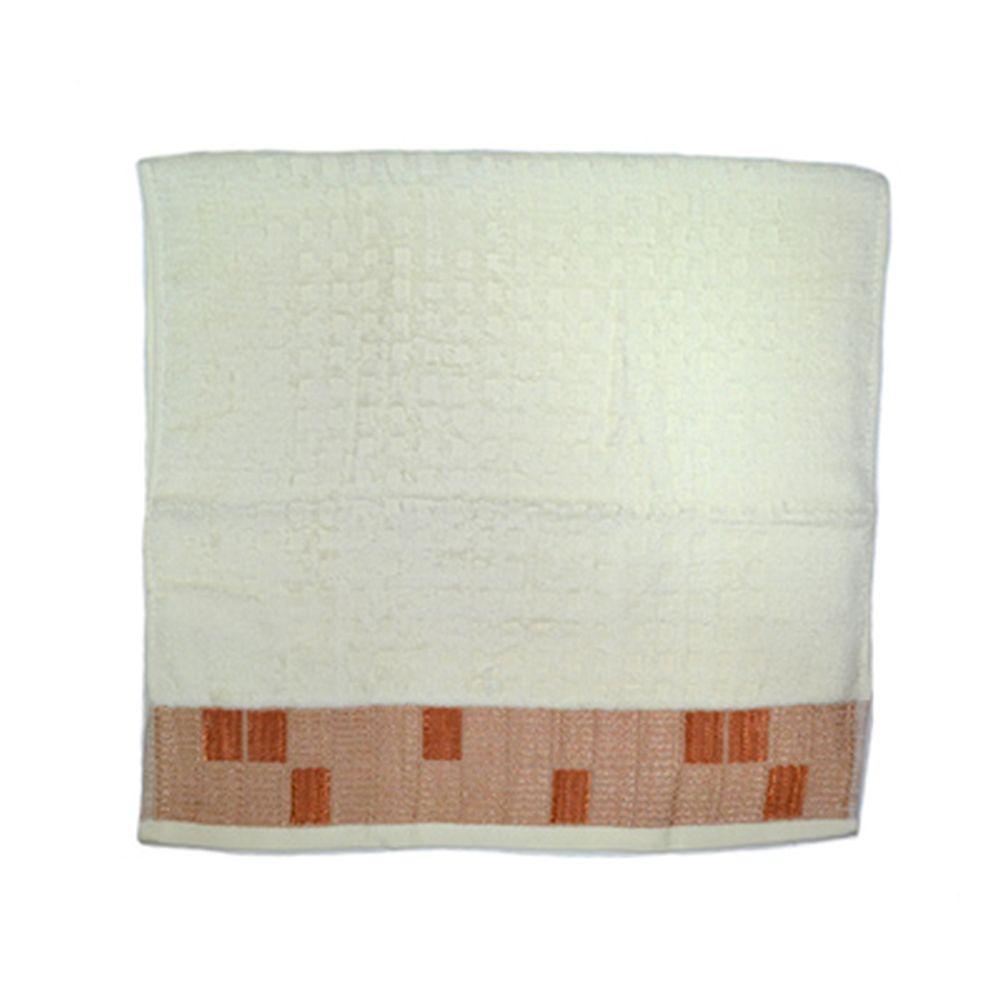 VETTA Полотенце банное, 100% хлопок Squared 48x90см, белое арт FBS8982
