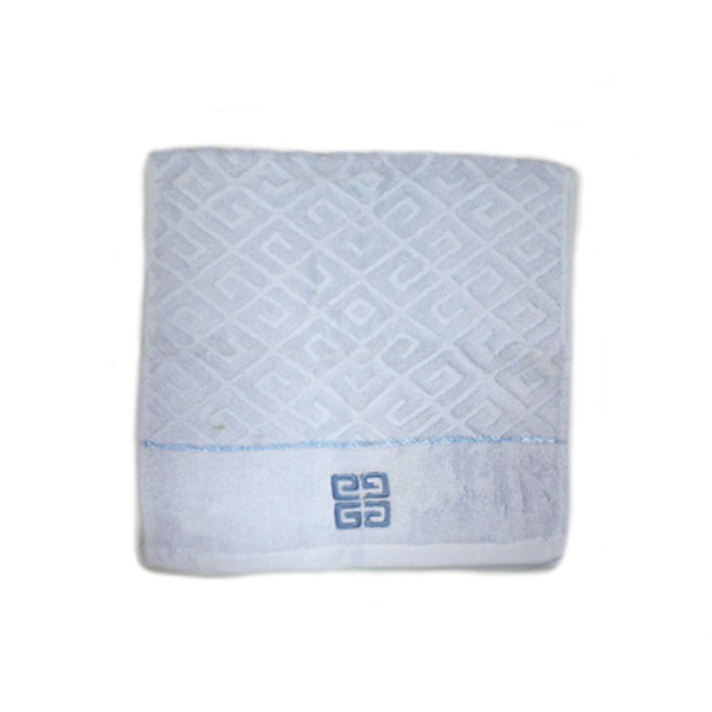 VETTA Полотенце банное, 100% хлопок Greek 48x90см синее арт FBS9015